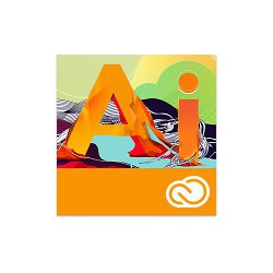 Adobe ILLustrator Creative Cloud dla firm 1 PC na 1 rok - NOWA