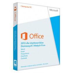 1 x MS Office 2013 dla Małych Firm i Użytkowników Domowych PL - 2019