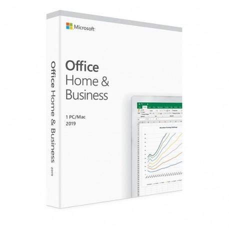 1 x MS Office 2019 dla Małych Firm i Użytkowników Domowych BOX PL - licencja dożywotnia - cena tylko na MS Windows 10 nie na Mac