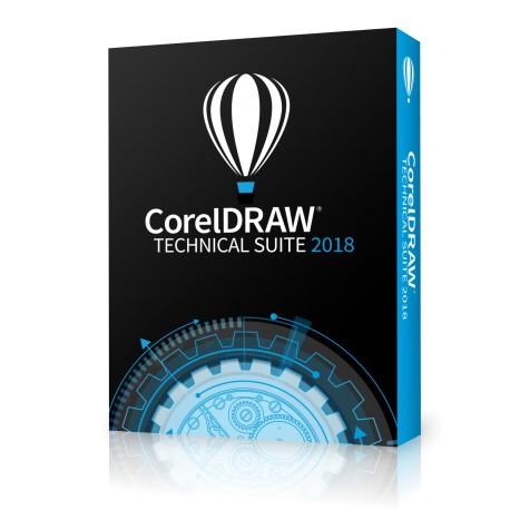 CorelDRAW Technical Suite 2019 Classroom licencja dożywotnia 15+1 na 16 komputerów dla Szkół  po polsku 2019