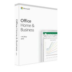 1 x MS Office 2019 dla Małych Firm i Użytkowników Domowych BOX PL - licencja dożywotnia - cena na Mac OS lub na MS Windows 10