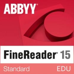 ABBYY FineReader Standard wersja 15 dla Szkół i Edukacji dla Mac OS  - licencja dożywotnia - pojedynczy użytkownik sklep PL