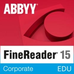 ABBYY FineReader Corporate wersja 15 dla Szkół i Edukacji - licencja dożywotnia - pojedynczy użytkownik PL na Mac OS i Windows