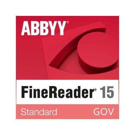 ABBYY FineReader 15 Standard GOV wersja 15 dla Urzędów Miast i Gminy - licencja dożywotnia - pojedynczy użytkownik cena PL