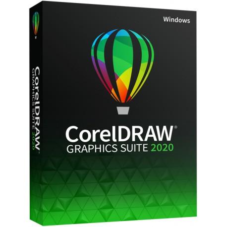1 x CorelDRAW Graphics Suite 2020 PL dla Szkoły, Domu Kultury i Edukacji licencja na 1 PC 2021 sklep 2019