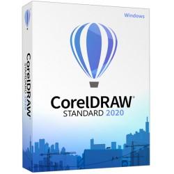 16 x CorelDRAW Standard 2020 ESD PL licencja na 16 komputerów dla Szkół, Uczelni SOSW dożywotnia cena Classroom wieczysta 2021